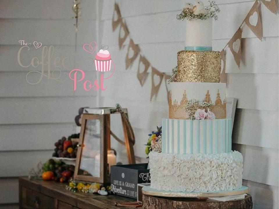 Bespoke 5 tier Wedding Cake